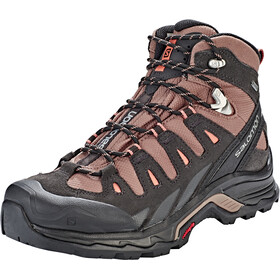Salomon Quest Prime GTX Sko Damer, deep taupe/phantom/tawny orange